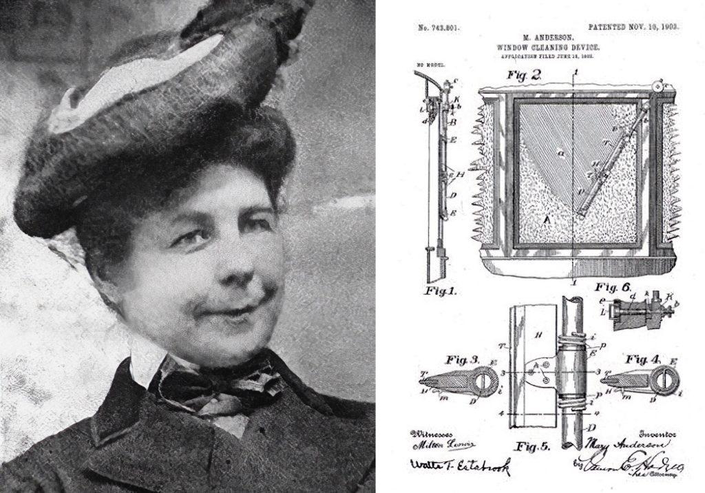 Mary anderson's wiper design